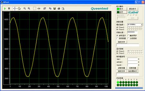 支持iq信号采集采集;双通道16bitda同步回放