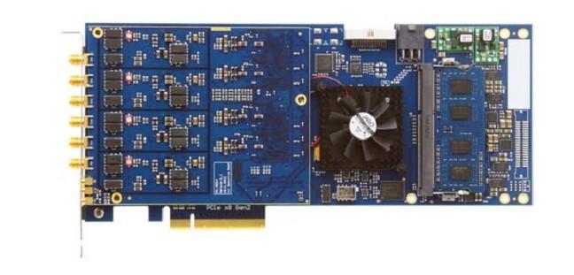 的公司,板卡平台以PCIe×8Gen2总线为主,采样率从130MS/s到7GS/s,精度从8bit到16bit,DC耦合高速采集卡可用于脉冲等信号采集场合,AC耦合PCIe高速数据采集卡可用于中频、射频信号采集等域。这种板卡因为易于集成至主流计算机(Intel系的主板将主要提供PCIe总线接口),可被广泛用于:激光、雷达、通信、电子对抗、高能物理、质谱分析、超声、医学等领域。 坤驰科技提供的PCIe高速数据采集卡种类有:  QT系列: QT1125: 4通道1.