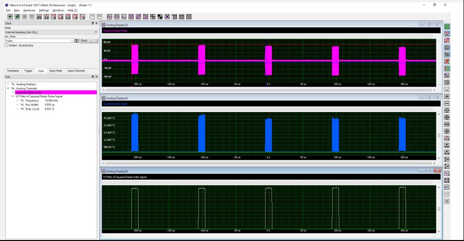 高速数据采集卡在雷达信号的采集与分析中的应用笔记