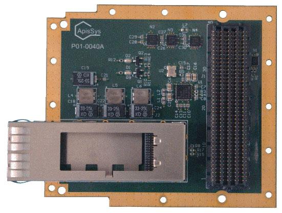 AF301—QSFP FMC