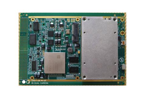 3U深度学习GPU+FPGA图像处理卡