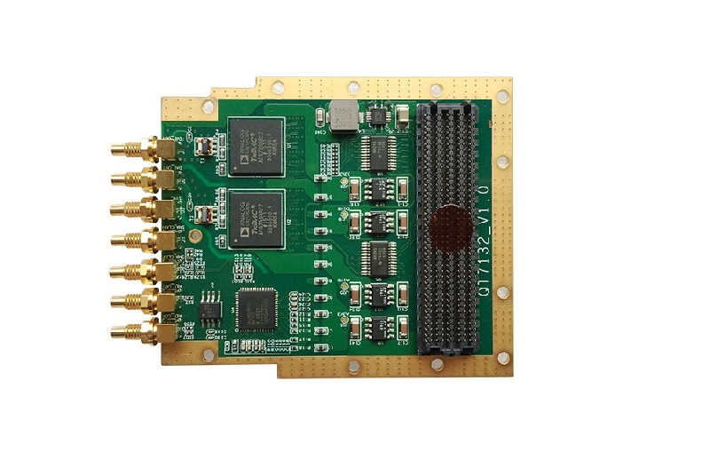 基于AD9739高速DAC FMC子卡QT7225