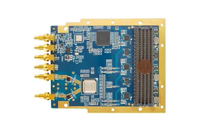 T7227 16bit 12.6GSPS 双通道输出 AD9172 FMC DA子卡