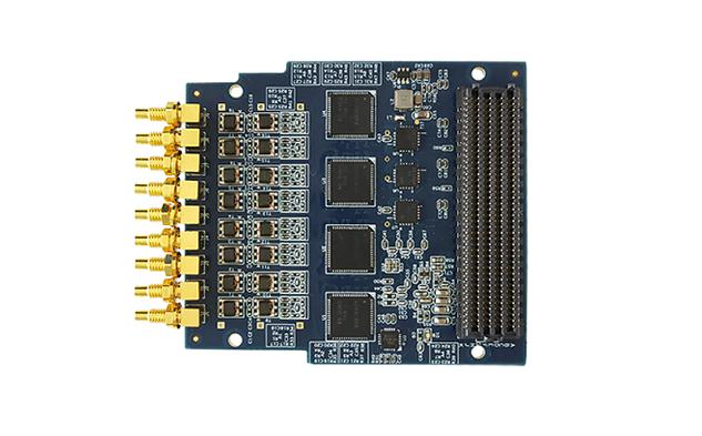 QT7151- 250MS/s 8通道FMC ADC子板