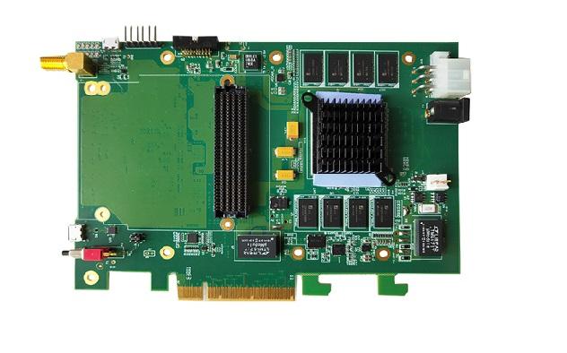 QT7010--PCIe插槽的FMC载板